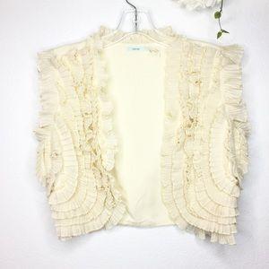 Urban Outfitters Kimchi Blue Boho Crop Vest